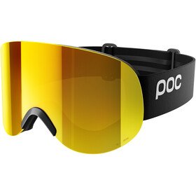 POC Lid Clarity Goggles Uranium Black/Spektris Orange